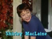 Cropped screenshot of Shirley MacLaine from the trailer for the film The Trouble with Harry.