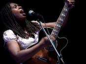English: Ruthie Foster @ Liri Blues 2010 Italiano: Ruthie Foster al Liri Blues 2010
