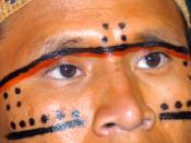 English: Brazilian Yanomami Indian Português: Indio Yanomami e alguém sabe o nome dele?