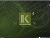 English: Desktop from Ekaaty Linux 4 - Yanomami Português: Área de Trabalho do Ekaaty 4 - Yanomami