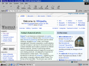 Internet Explorer 5 in Windows 98