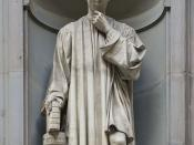Statue of Niccolò Macchiavelli (Serie