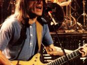English: Malcolm Young, shot during AC/DC's Monster's Of Rock Tour.