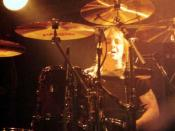 Phil Rudd, taken in 1995 in Seattle during AC/DC's Ballbreaker tour.
