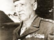 George S. Patton signed photo by U.S. Army