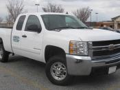 2007-2009 Chevrolet Silverado photographed in Laurel, Maryland, USA. Category:GMT911