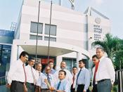 Perera the accessibility advisor. In consultation with the key members of the HNB Bank's top management team on 23 January 2007.