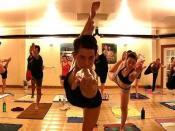 English: Bikram Yoga