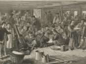 Chinese immigrants on board the steam ship Alaska, headed for San Francisco.