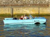 Deutsch: Amphicar in Stuttgart-Hafen 18. Juni 2005