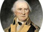 General Daniel Morgan, portrait by Charles Willson Peale