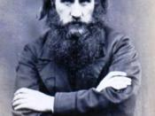CDV of the Scottish poet and novelist, George Macdonald (1824-1905)