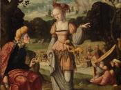 Jan van Scorel, Ruth and Naomi in the fields of Boaz.