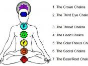 This picture depicts the seven major Chakras with descriptions.