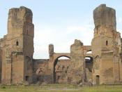 The Baths of Caracalla, in 2003