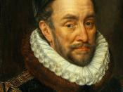 William the Silent, Prince of Orange, Stadtholder of the Spanish Netherlands and Leader of the Dutch Revolt.