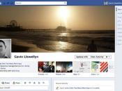 Gavin Llewellyn's Facebook profile (2011)