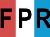 English: Flag of the Rwandan Patriotic Front.