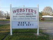 Webster's sign