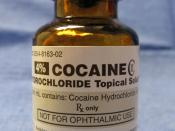English: Cocaine hydrochloride for medicinal use. This is a CII controlled substance in the United States.