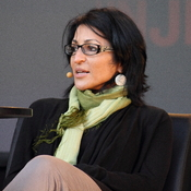 English: Susan Abulhawa at the Oslo Book Festival