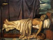 Lord Byron on his Death-bed