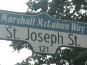 The section of St. Joseph Street in the college is co-named Marshall McLuhan Way.