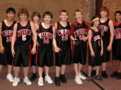 English: Excel Boys Basketball Team