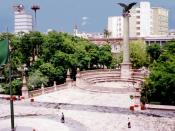 Main square, a landmark of the city, is often called