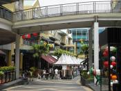 expat auswandern Malaysia Shopping Malls KL The Curve street