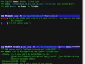English: Screen shot of Xaric in use.