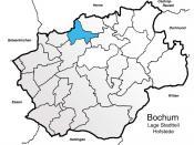 Bochum Lage Stadtteil Hofstede