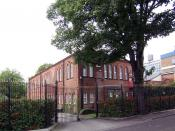 English: Judeo Christian Study Centre Formerly the Western Synagogue. The study and conference centre, based on Linnaeus Street off Anlaby Road, aims to highlight the Jewish community's significant contribution to Hull over the years. This photo was taken
