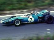 Jackie Stewart 1969 im Matra-Ford auf dem Nürburgring