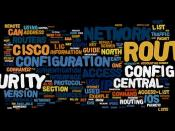 Information Security Wordle: NSA Router Security Configuration Guide