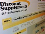 Discount Supplements Website