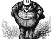 Boss Tweed, by Thomas Nast : Русский: