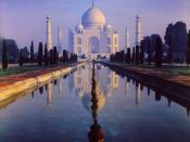 English: The Taj Mahal Česky: Tádž Mahal Author: Amal Mongia. Author's note:
