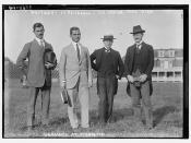 Germans at Princeton -- Weitzer - Lt. Reichenau - Dr. Bemer - Carl Diem  (LOC)