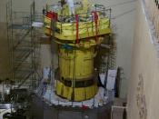 English: Davis-Besse Nuclear Power Station: Overview of the Davis Besse Reactor Head Inspection Area