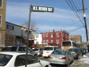 Merwin initially grew up on this street in Union City, New Jersey, which was renamed for him in 2006.