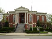 3rd Appellate Court Building in Ottawa, Illinois, USA, part of the Washington Park Historic District, U.S. National Register of Historic Places.