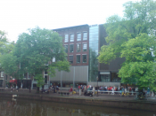 English: Anne Frank's house Amsterdam