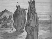 Expulsion of Ishmael and His Mother, from Gustave Doré's illustrated Bible of 1866.