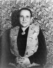 Portrait of Gertrude Stein, New York (1934 November 4)