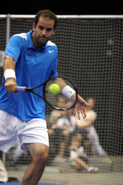 , American tennis player and former world #1