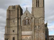 Dol - cathédrale - façade