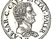 English: Gaius Julius Caesar (proconsul of Asia) was a Roman senator, supporter and brother-in-law of Gaius Marius, and father of Julius Caesar, the later dictator of Rome.