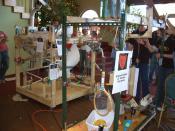 Rube Goldberg devices.