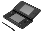 English: A Nintendo DS Lite, shown with stylus.
